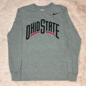 Ohio State Nike Long Sleeve Shirt.